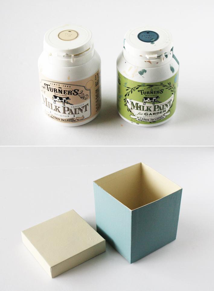 紙モノリメイク☆紙箱でつくる「コラージュボックス」_d0351435_23225696.jpg