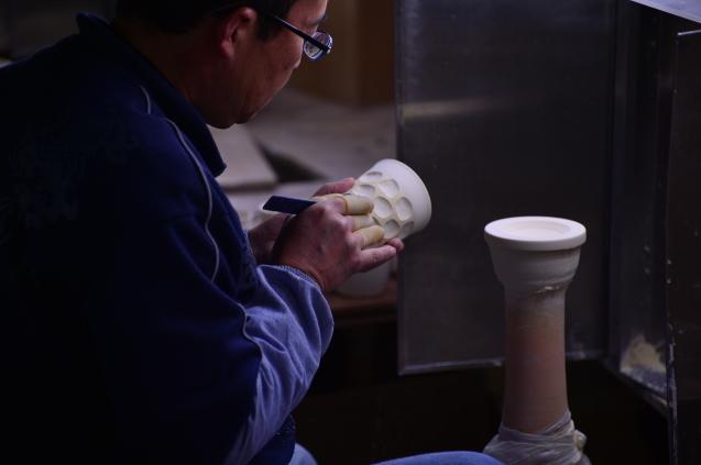 初めて、有田の窯焚きを見てきました。_f0345938_18162661.jpg