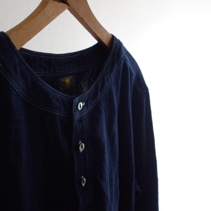 2月の製作 / antiqued german linen shirt Ⅱ_e0130546_16573389.jpg