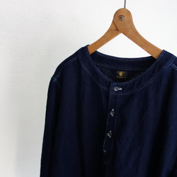 2月の製作 / antiqued german linen shirt Ⅱ_e0130546_16575062.jpg