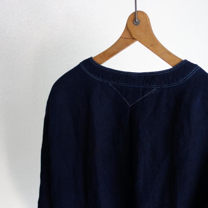 2月の製作 / antiqued german linen shirt Ⅱ_e0130546_16580262.jpg