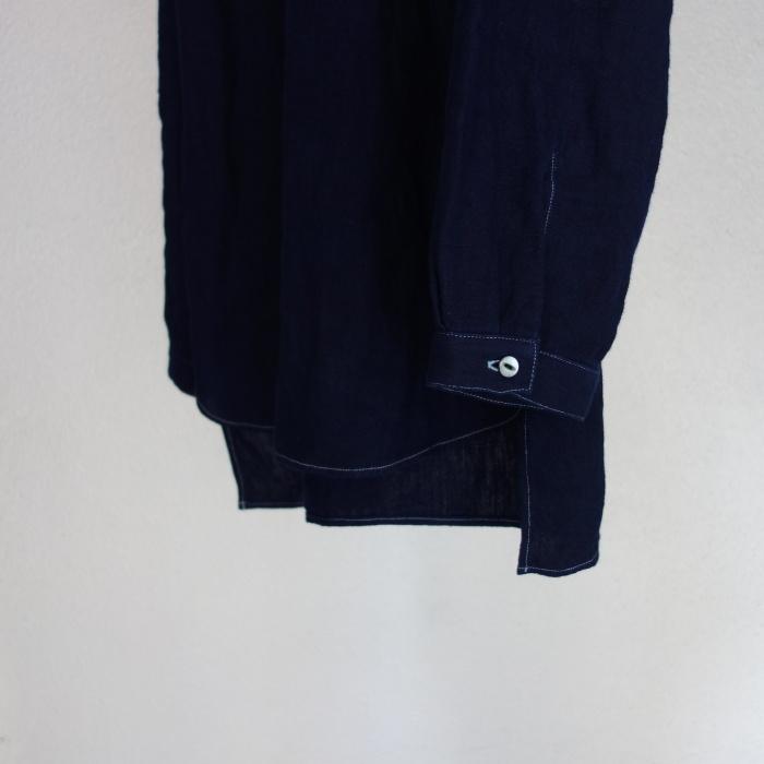 2月の製作 / antiqued german linen shirt Ⅱ_e0130546_16582073.jpg