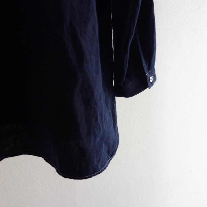 2月の製作 / antiqued german linen shirt Ⅱ_e0130546_16583344.jpg