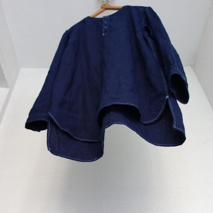 2月の製作 / antiqued german linen shirt Ⅱ_e0130546_16584810.jpg