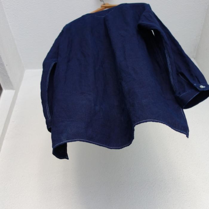 2月の製作 / antiqued german linen shirt Ⅱ_e0130546_16590544.jpg