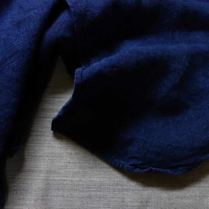 2月の製作 / antiqued german linen shirt Ⅱ_e0130546_17010654.jpg