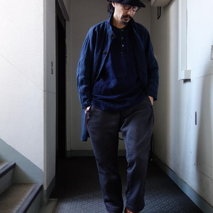 2月の製作 / antiqued german linen shirt Ⅱ_e0130546_17034804.jpg