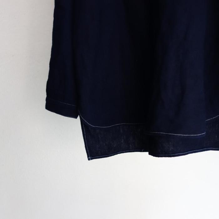2月の製作 / antiqued german linen shirt Ⅱ_e0130546_17063391.jpg