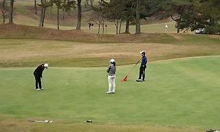 第34回 梶岡建設ジュニアゴルフ月例競技会_f0151251_15464573.jpg