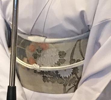 11周年・露芝に源氏香の着物に、菊や秋の草花の袋帯。_f0181251_18140777.jpg