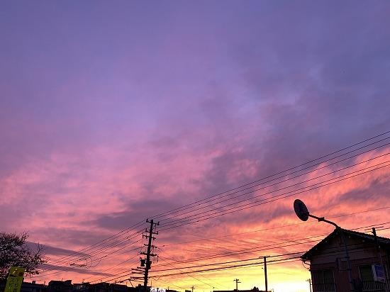 久しぶりに見た夕景_c0327752_00325114.jpg