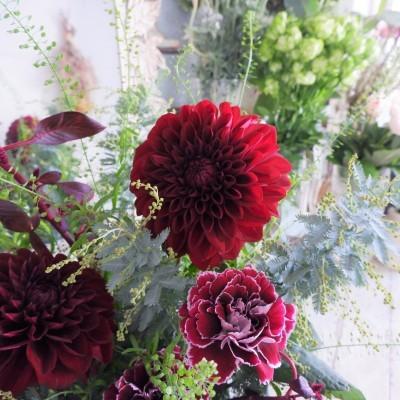オークリーフ花の教室(甘艸さんと大草さんの作品)_f0049672_19401692.jpg