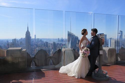 日本人初!Wedding @ Top of the Rock _b0209691_16103116.jpg