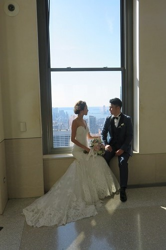 日本人初!Wedding @ Top of the Rock _b0209691_16103118.jpg