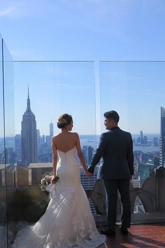 日本人初!Wedding @ Top of the Rock _b0209691_16103145.jpg