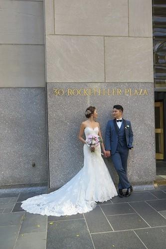 日本人初!Wedding @ Top of the Rock _b0209691_16142983.jpg