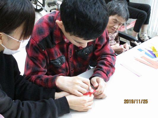 11/25 創作活動_a0154110_09525224.jpg