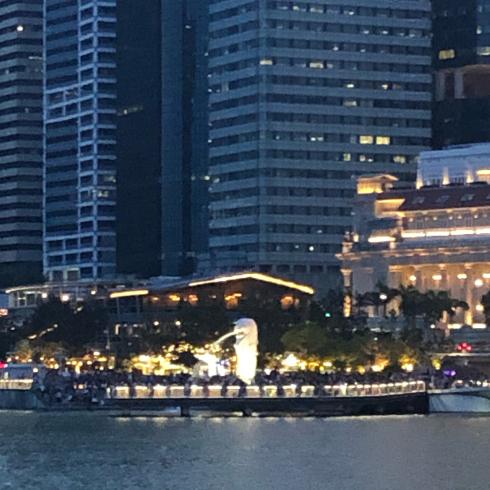 19年10月シンガポール その13☆夕暮れのシンガポール_d0285416_20503155.jpg