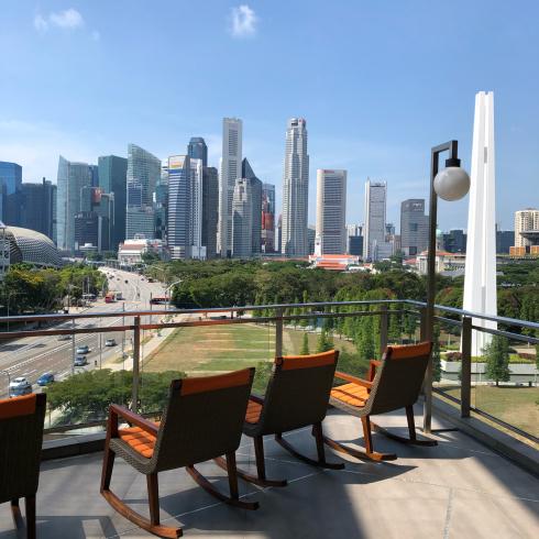 19年10月シンガポール その14☆ゆっくり楽しみたい朝食とプール_d0285416_22242942.jpg