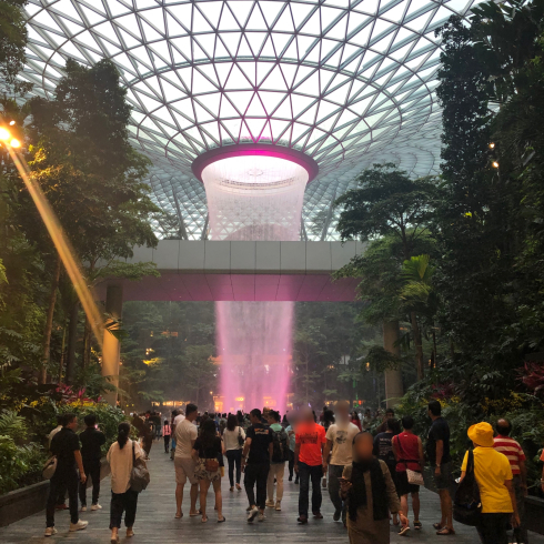 19年10月シンガポール その17☆便利で豪華!チャンギ空港のJEWEL_d0285416_23165682.jpg