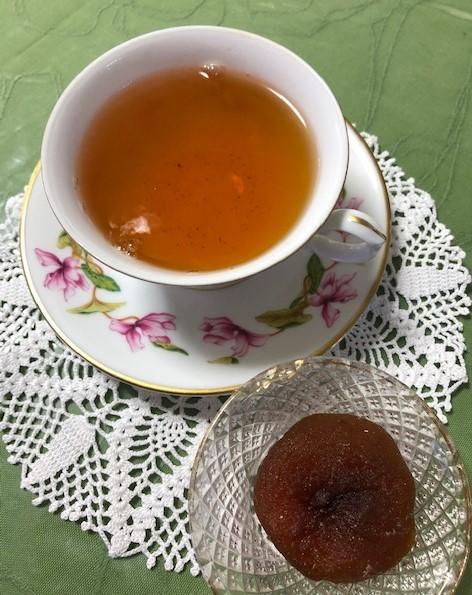 干し柿と紅茶_b0158721_16312570.jpg