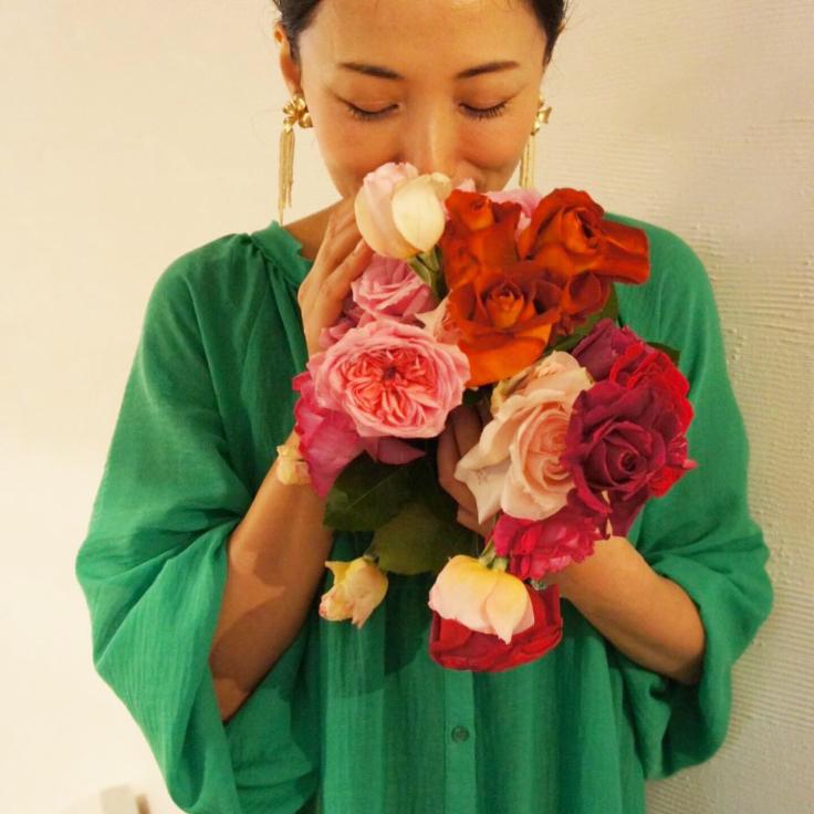至福の薔薇 水晶と薔薇〜女神の時間_a0018237_23481390.jpg