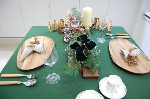 クリスマスのテーブル ~基本クラス~_d0217944_22261480.jpg