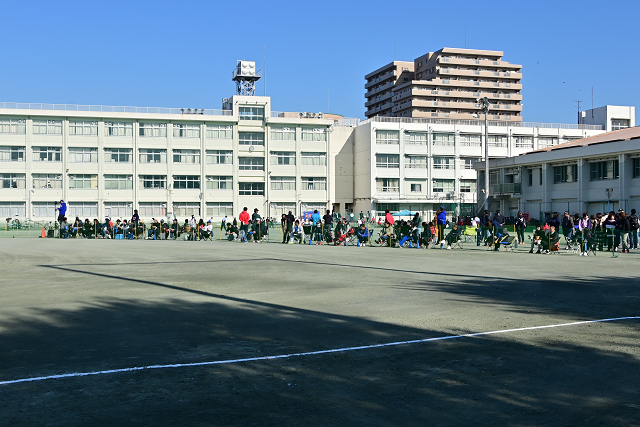 2019東京高校秋期大会 目黒日大VS小平西②_b0249247_23525304.jpg
