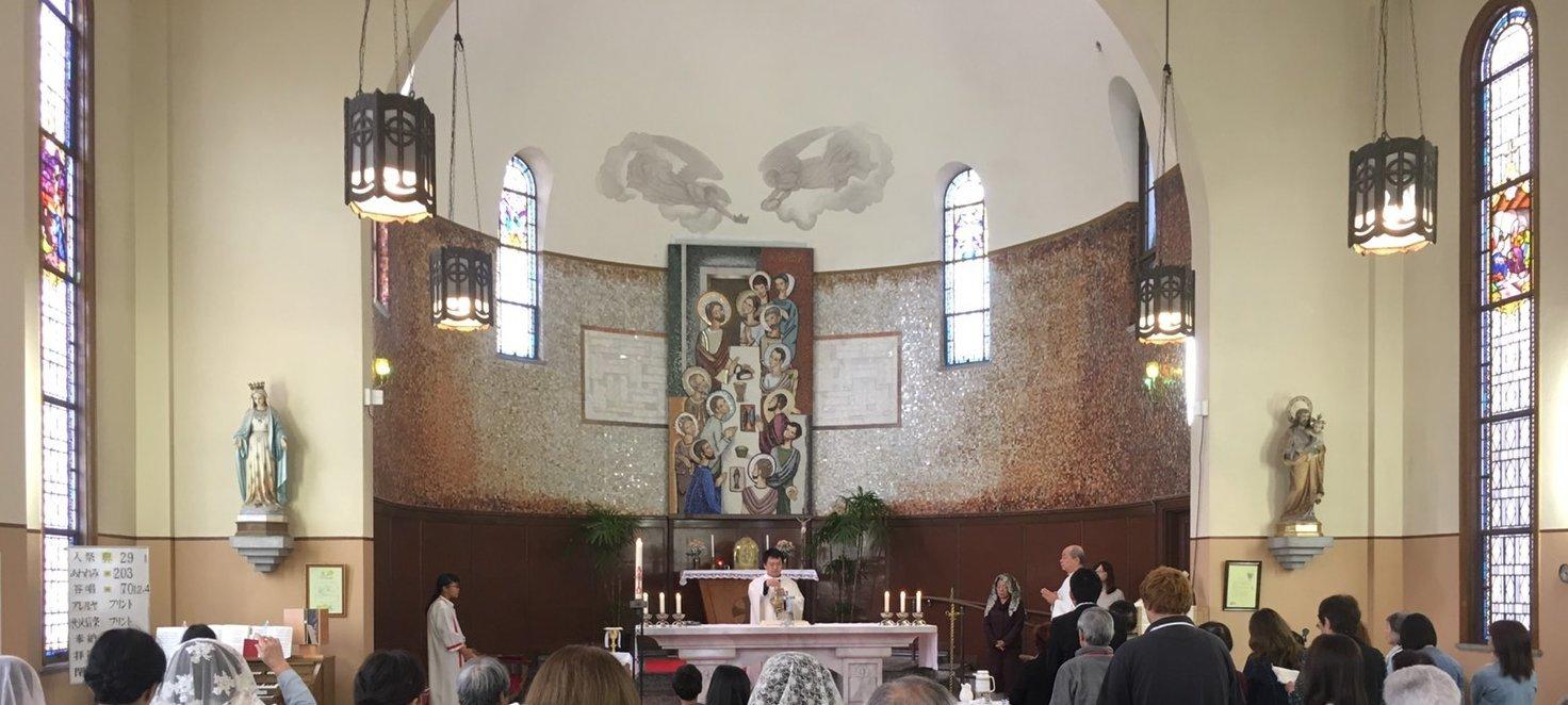 防府カトリック教会_c0112559_07570254.jpg
