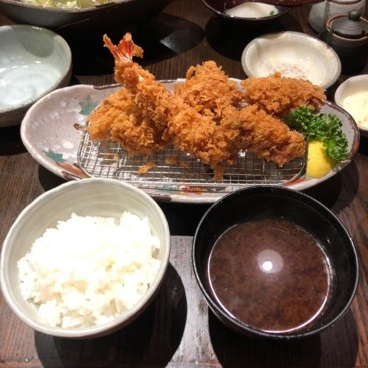 風邪とカキフライ定食_c0133561_01343476.jpg