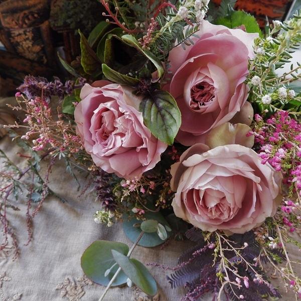 オークリーフ(バラソルファの花束)_f0049672_11170294.jpg