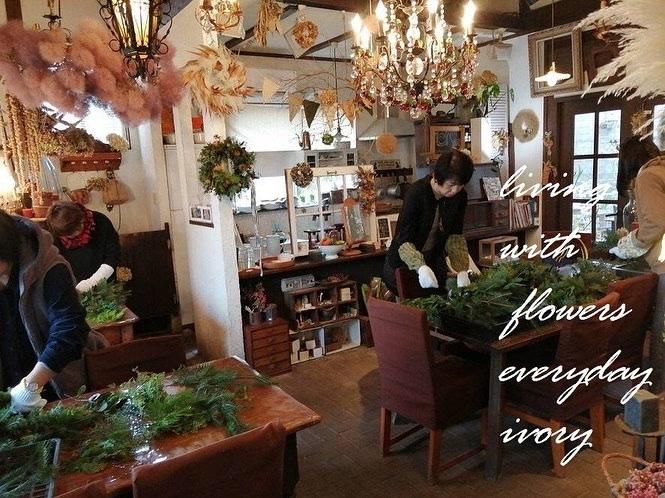 IVORY 花教室 11 Novemberは、 楽しく終了しました〜♬_b0094378_13364845.jpeg