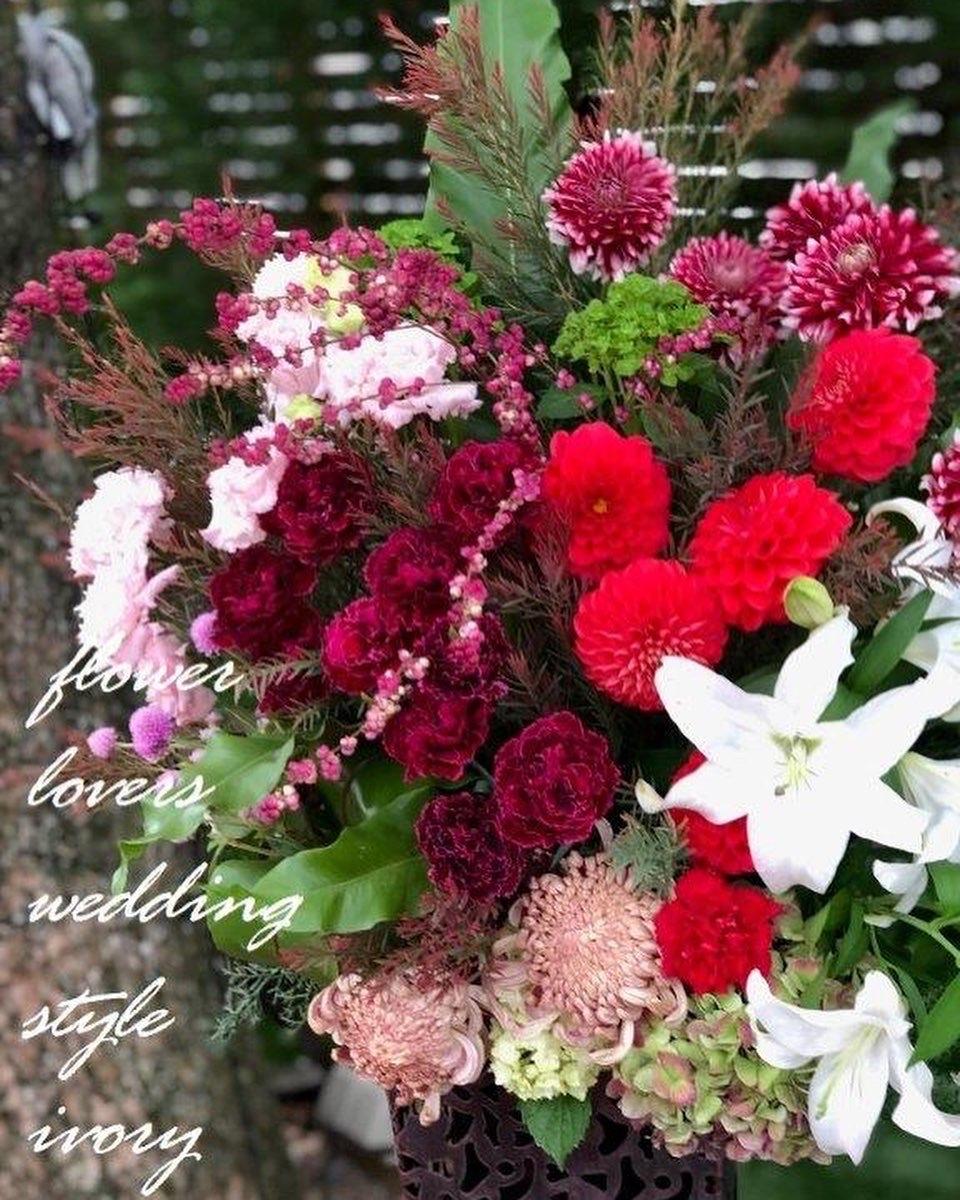 週末の婚礼から〜♬_b0094378_19503207.jpeg