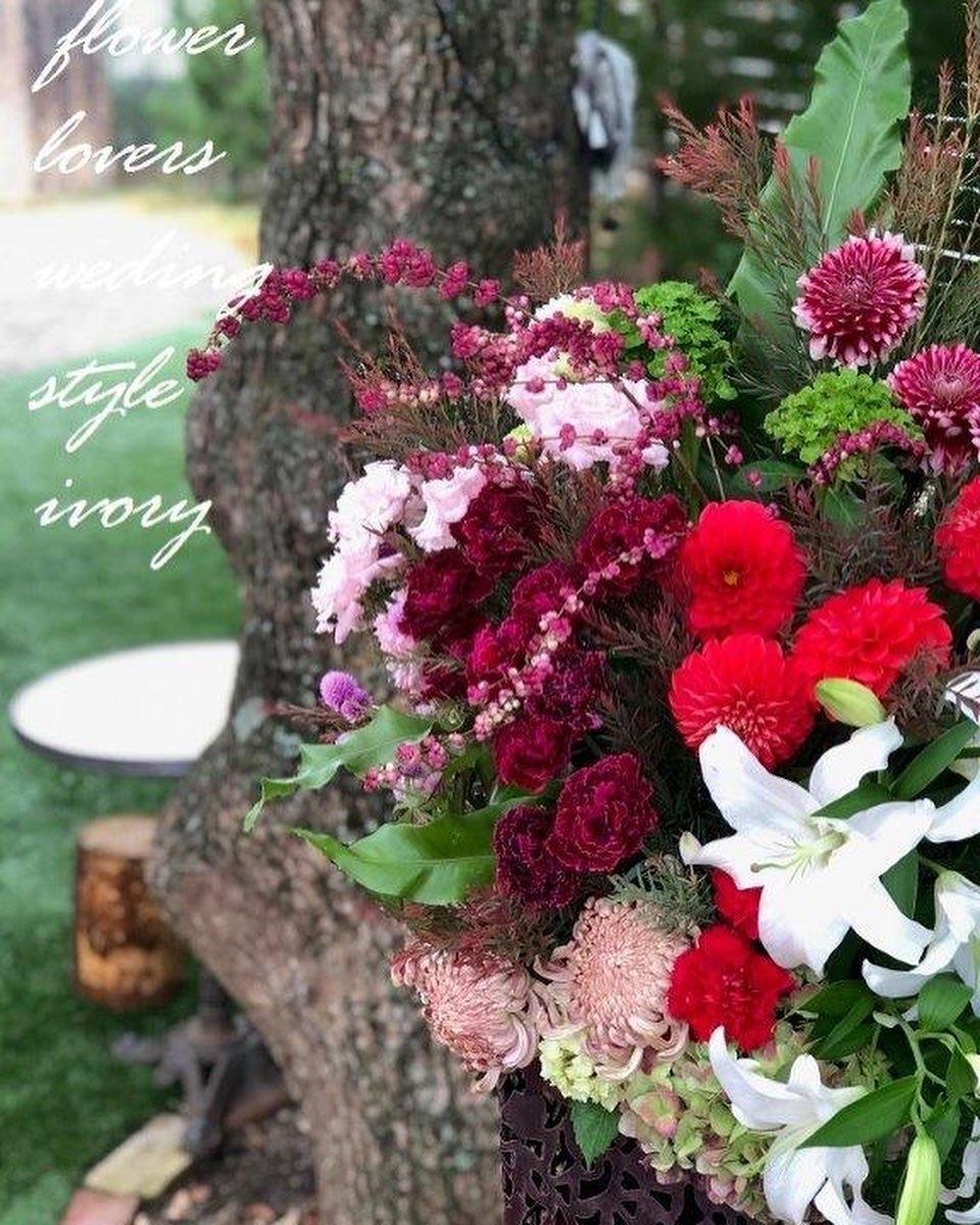 週末の婚礼から〜♬_b0094378_19510063.jpeg