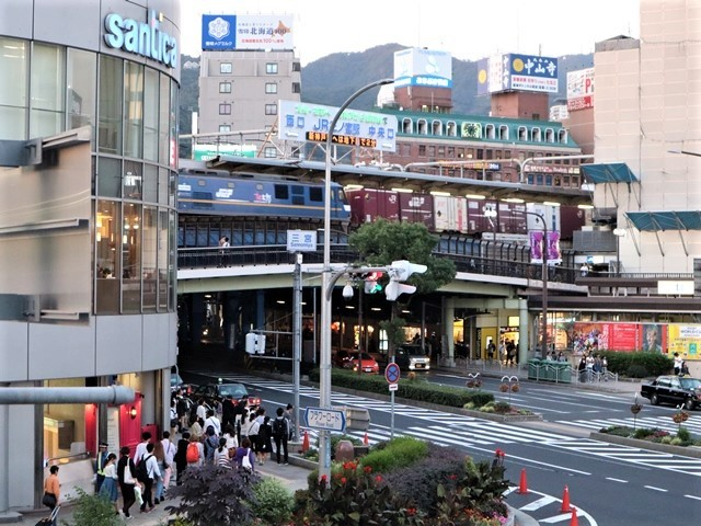 藤田八束の鉄道写真@阪急電車のお客様に感謝、傘忘れました。でも忘れ物センターに届いていました。この感激で元気になれました。_d0181492_22040467.jpg