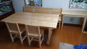 テーブル、椅子、ベンチ 納品_a0061599_23282795.jpg
