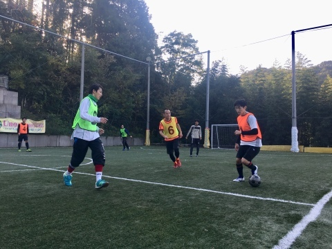 ゆるUNO 11/16(土) at UNOフットボールファーム_a0059812_16344574.jpg