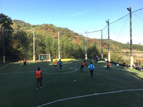 ゆるUNO 11/17(日) at UNOフットボールファーム_a0059812_16484191.jpg