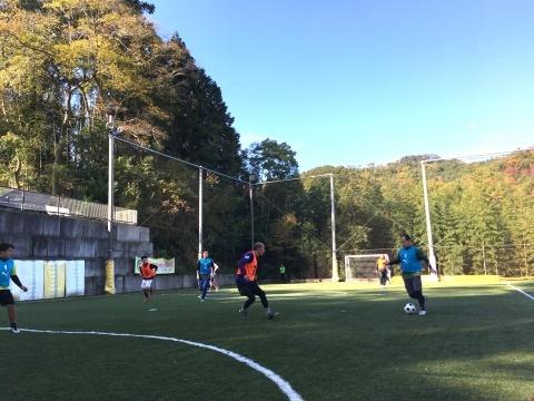 ゆるUNO 11/17(日) at UNOフットボールファーム_a0059812_16500137.jpg
