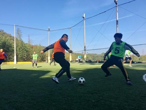 ゆるUNO 11/17(日) at UNOフットボールファーム_a0059812_16505992.jpg