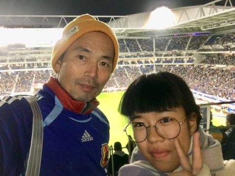 11/19(火) 休蹴日 キリンチャレンジカップ 見て来ました〜_a0059812_18113908.jpg