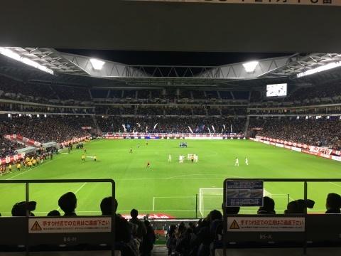 11/19(火) 休蹴日 キリンチャレンジカップ 見て来ました〜_a0059812_18133317.jpg