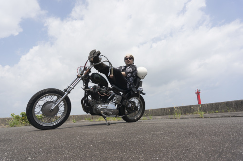 大西 隆之 & Harley-Davidson XLH900(2019.08.24/MATSUZAKA)_f0203027_18014465.jpg