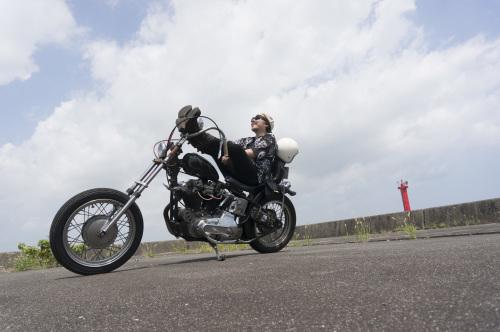 大西 隆之 & Harley-Davidson XLH900(2019.08.24/MATSUZAKA)_f0203027_18015282.jpg