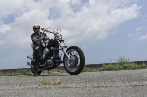 大西 隆之 & Harley-Davidson XLH900(2019.08.24/MATSUZAKA)_f0203027_18030499.jpg