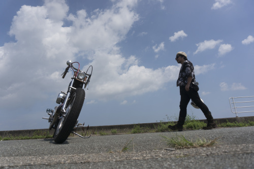 大西 隆之 & Harley-Davidson XLH900(2019.08.24/MATSUZAKA)_f0203027_18034558.jpg