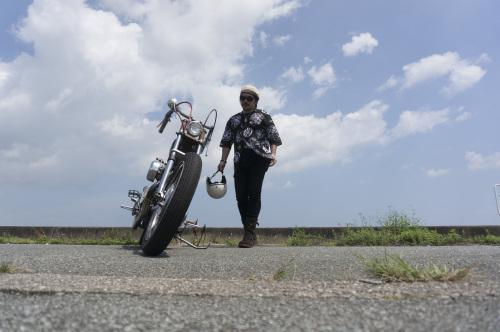 大西 隆之 & Harley-Davidson XLH900(2019.08.24/MATSUZAKA)_f0203027_18035594.jpg