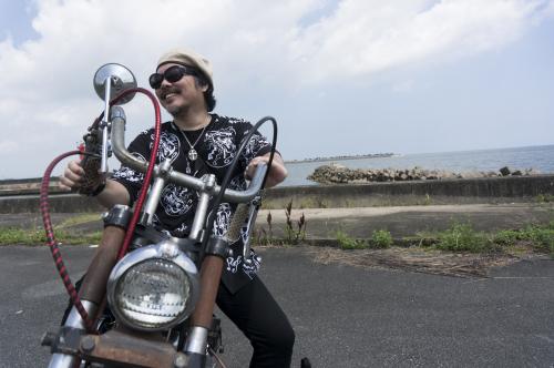 大西 隆之 & Harley-Davidson XLH900(2019.08.24/MATSUZAKA)_f0203027_18040985.jpg