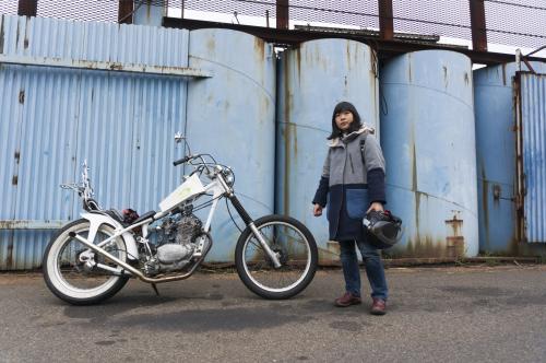 真綾 & HONDA XL250S(2019.03.23/NAGOYA)_f0203027_18074324.jpg