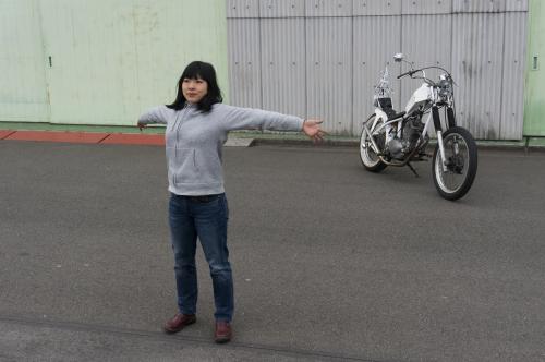 真綾 & HONDA XL250S(2019.03.23/NAGOYA)_f0203027_18095269.jpg